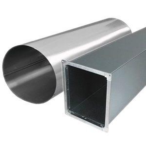 Оцинкованные воздуховоды для квартиры