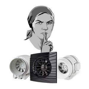 Бесшумные вентиляторы для спальни